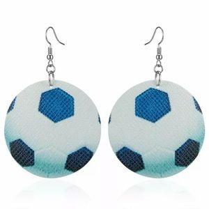 Jewelry - Soccer Ball Styrofoam Earrings